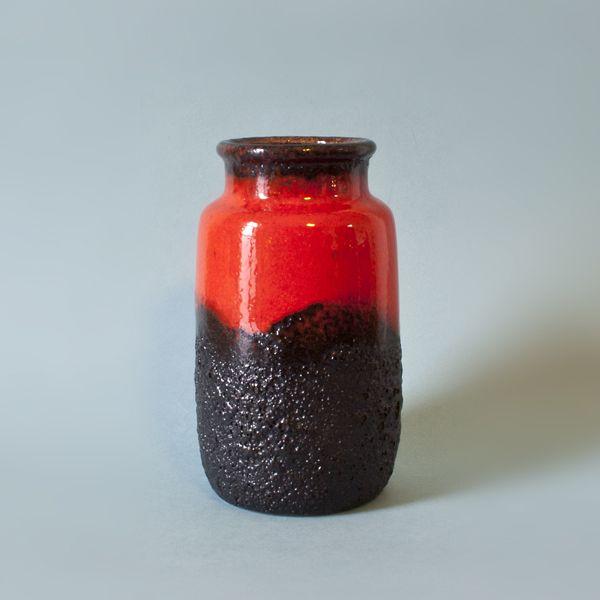 Zachodnioniemiecki wazon ceramiczny