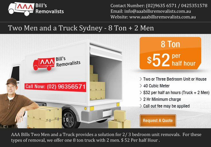 Removalist services.