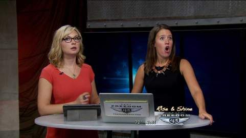 AUGUST 19, 2014 OKLAHOMA CITY — An earthquake rattled central Oklahoma at 7:41 am Tuesday morning.  Emily Sutton and Lacey Lett were on the air on KAUT broadcasting when the quake hit. According to the US Geological Survey the quake measured 4.2.  The Oklahoma Geological Survey is calling the quake a 4.3. The epicenter of this quake SSW of Guthrie, in the Liberty Lake area of southern Logan County.