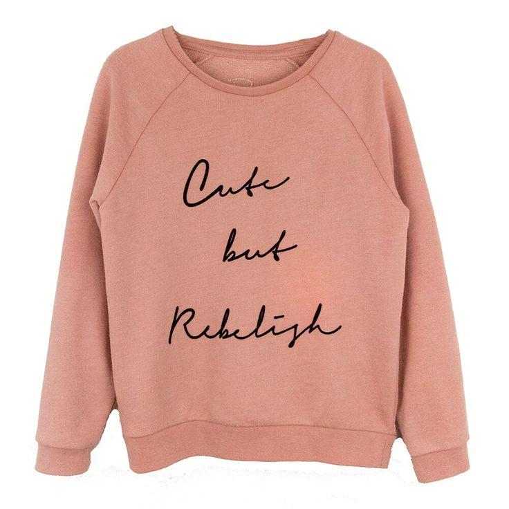 Cute but rebelish sweat Www.raine.nl