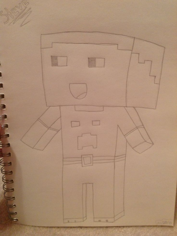 My minecraft drawing