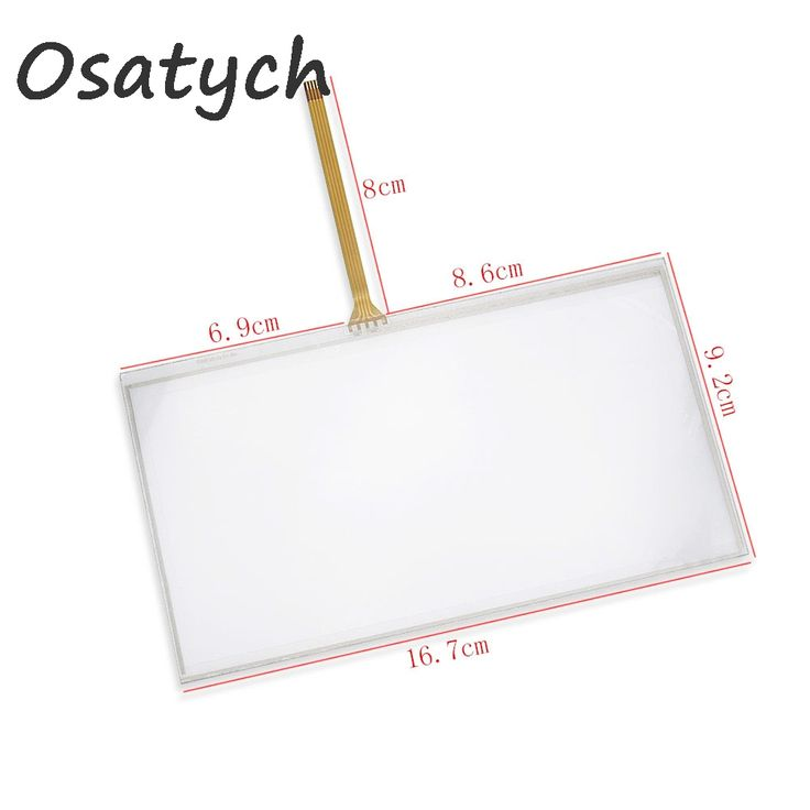 """167*93mm 4 Wire Resistive 6.95"""" inch Touch Screen Panel Digitizer 167x93mm For C070VW03 TM070RDH01 Display Size 159*86MM //Price: $12.26 & FREE Shipping //     #hashtag2"""