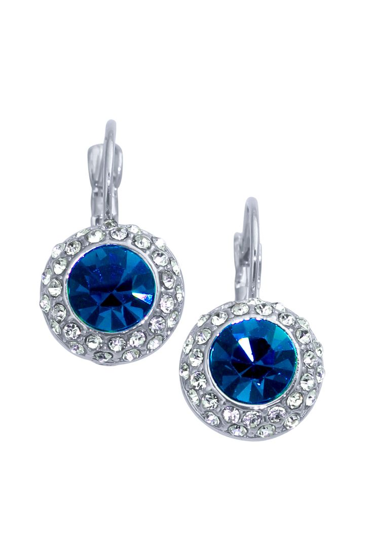 Something Blue....  Diana Earring $35.00