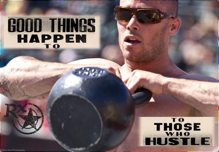 Hustle... Chris Spealler