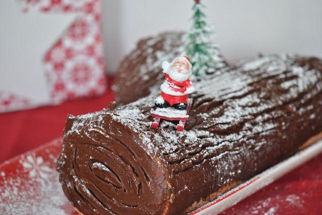 Pão e Beldroegas: Tronco de Natal da Gisa e Uma Publicação