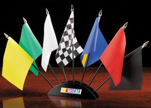 NASCAR Racing Flag Set
