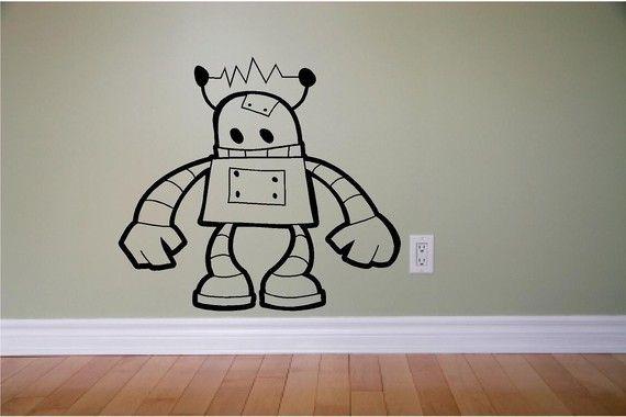 58 best robot room images on pinterest play rooms room for Robot bedroom