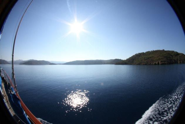 5.Day, Cleopatra Island, Karacasogut,   private boat rental, www.barbarosyachting.com