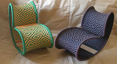 M'Afrique Collection 2009, Moroso. #seats #chairs #african