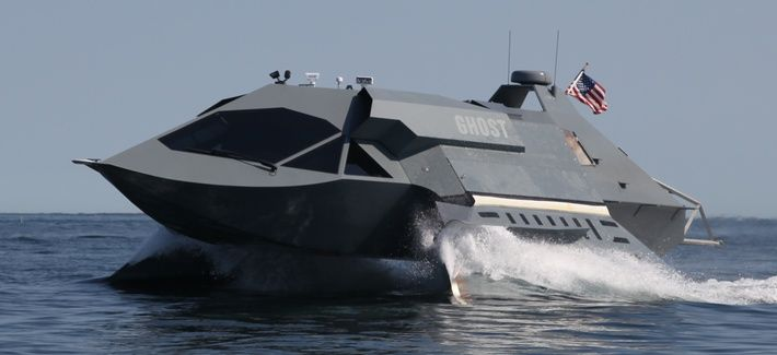 Navy SEAL's GHOST boat  prototype