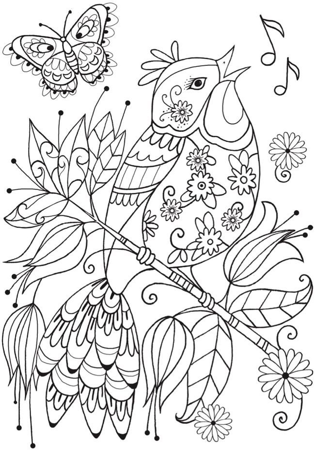Easy Coloring Page Mandala Coloring Pages Coloring Pages