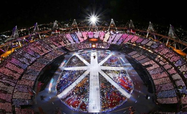 2012 London Olympic Ceremony Night