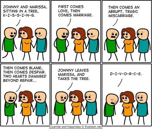 Cyanide and Happiness comic.