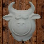 Ceramic Cow that you can paint.