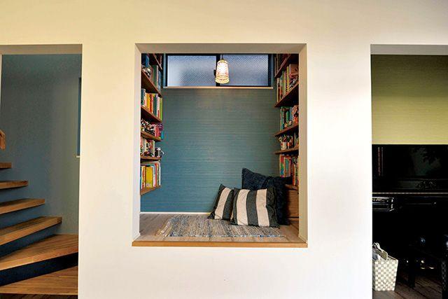 「隠れ家」とは「心が安らぐ場所」「ホッとするひととき」だ。規模の大小や、かける金額の多い少ないは関係ない。心安らぐ場所、自分だけのスペースを「秘密基地」と呼び小さいけれど充実した時間が過ごせる空間を紹介する。