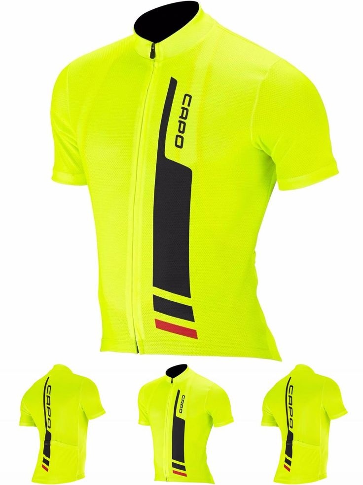[Visit to Buy] PRO Team Men's Cycling Jerseys Short Sleeve Cycling Jersey Team Cycling Bike Bicycle Shirts Clothing For Men Fluo Yellow Color #Advertisement