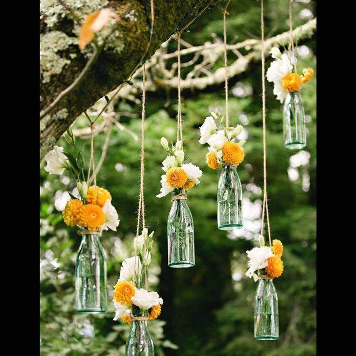 Un mariage champ tre en 20 id es d co marry me boda decoracion bodas et casamiento - Jardin champetre rustique lyon ...