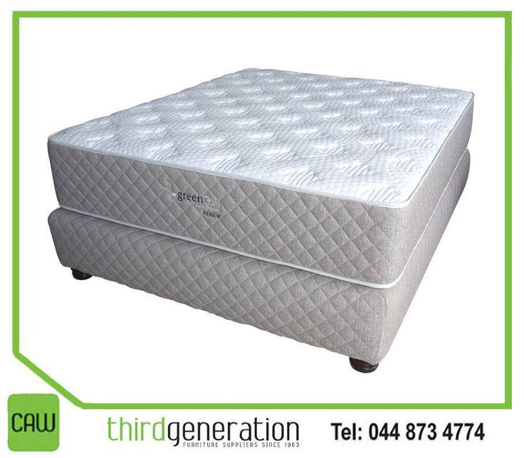 Dreaming of a peaceful night rest? Get this luxurious and top quality #Greencoil bed from #ThirdGenerationCAW.