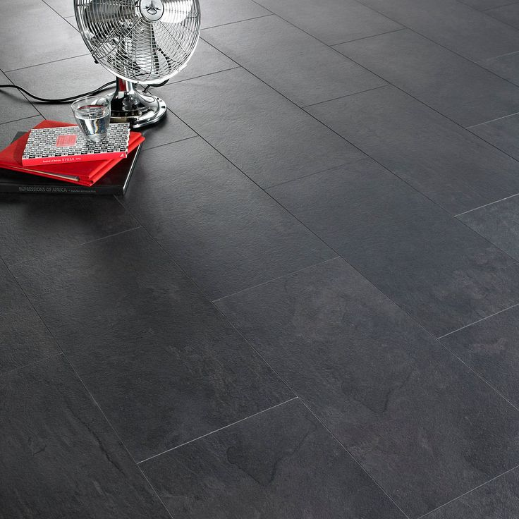 DIY at B&Q in 2020 Laminate flooring, Black laminate