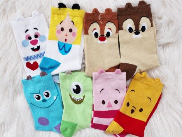 Disney Store Haul: Disney Store Kawaii Socks