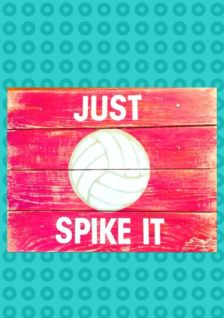 "This awesome volleyball sign is the perfect wall decor for a girl's bedroom decor.  Words are powerful and the volleyball quote, ""Just Spike It"", can help give her the daily inspiration she needs to BELIEVE in herself.  Do you have a special volleyball player that would love this volleyball sign? This wooden wall art sign makes for a great gift."