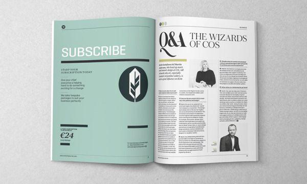 Magazine Design Inspiration – Artworks Journal Issue 2