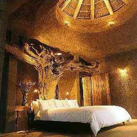 Earth Lodge Bedroom, Sabi Sabi