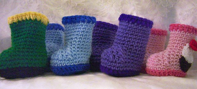 Free Crochet Patterns Baby Rompers : 17 Best images about Crochet Baby Booties on Pinterest ...