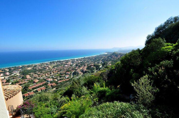 Costa Rei from the top   #costarei #sardegna #vacanze #mare #sea #holiday #italy #sardinia #sardolicesimo #panorama #travel #traveltips