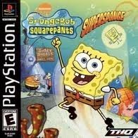 Complete SpongeBob SquarePants Super Sponge - PS1 Game