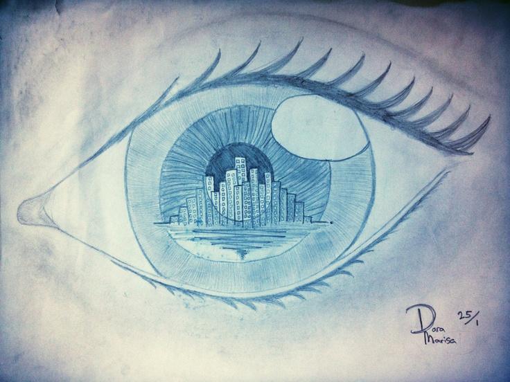 the city i saw   by. Dara Marisa.
