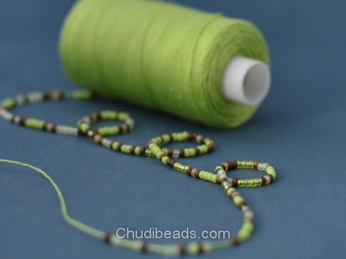 Tutorial: Crochet bead necklace   Chudibeads
