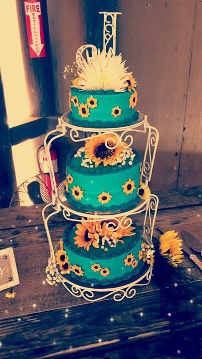 25 Best Ideas About Teal Cake On Pinterest Aqua Cake