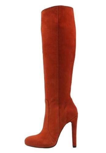 Mai Piu Senza Botas Con Plataforma Dark Orange botas y botines Senza Piu Mai Dark Botas orange plataforma Noe.Moda