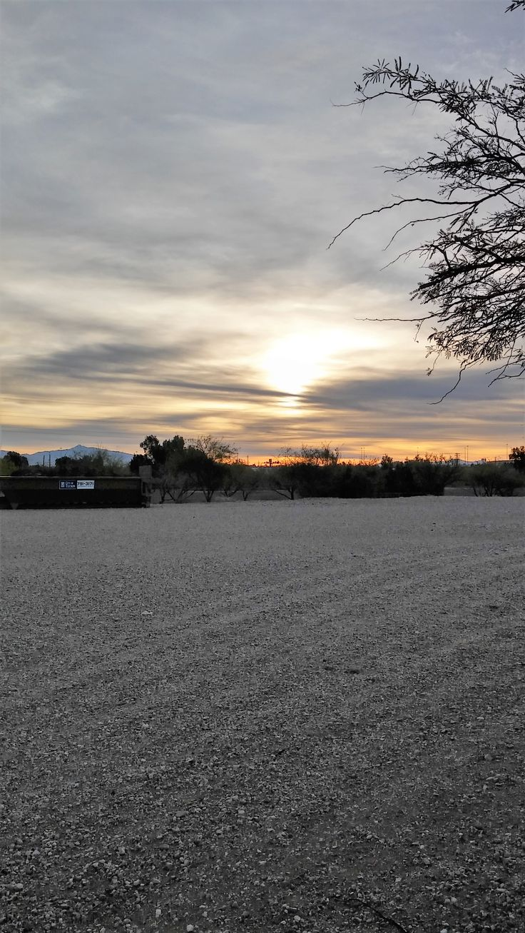 Sunrise at the Arizona Department of Corrections - Southern Region Community Corrections Center, Tucson