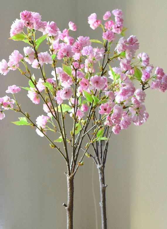 Sakura Pink Japanese Cherry Blossom Tree In Rustic Pot Etsy Cherry Blossom Wedding Cherry Blossom Tree Japanese Cherry Blossom