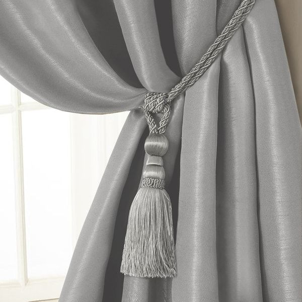 Elrene Amelia Tassel Curtain Tieback Rope Tassel Curtains Curtain Tie Backs Curtains