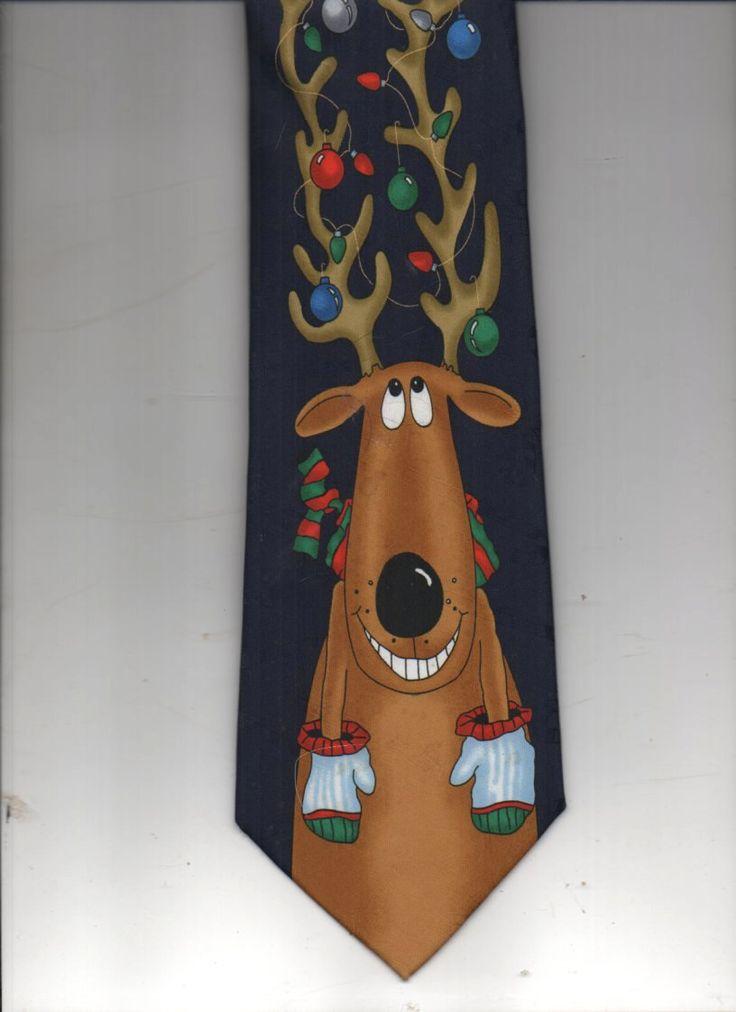Mens Silk Pocket Square - Christmas Reindeers by VIDA VIDA TqGFOK