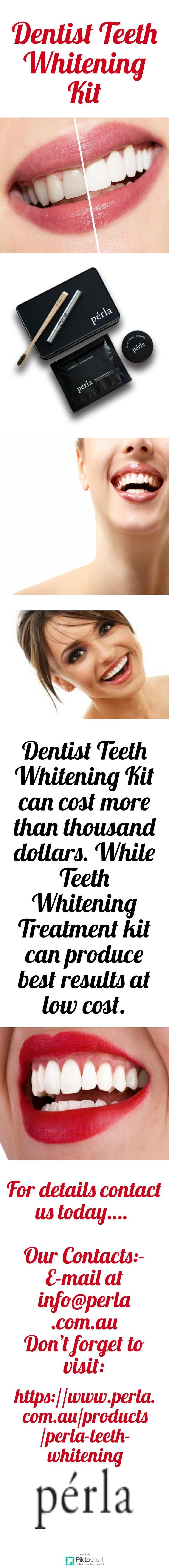 Dentist Teeth Whitening Kit can cost more than thousand dollars. While Teeth Whi