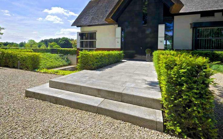 Meer dan 1000 idee n over voortuin landschap op pinterest voortuinen graven rotsen en - Moderne landschapsarchitectuur ...