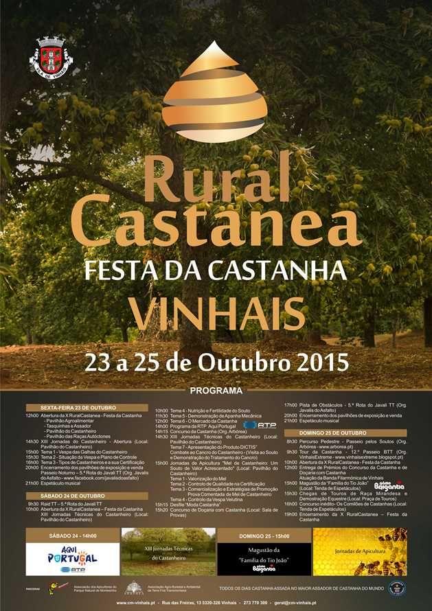 Rural Castanea em Vinhais Realiza-se de 23 a 25 de... | A. Montesinho Turismo
