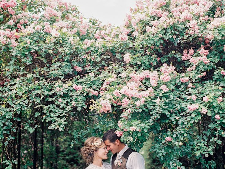 Couple Under Tree Canopy