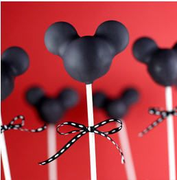 Mickey Mouse Cake Pops...how to do basic shape