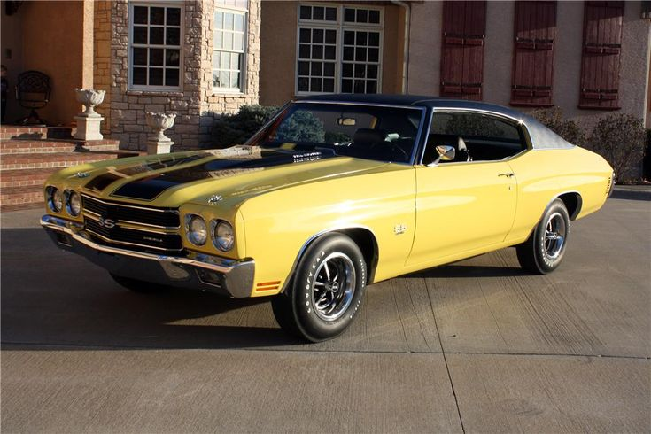 1970 Chevrolet Chevelle Ss 396 2 Door Coupe Classic Cars