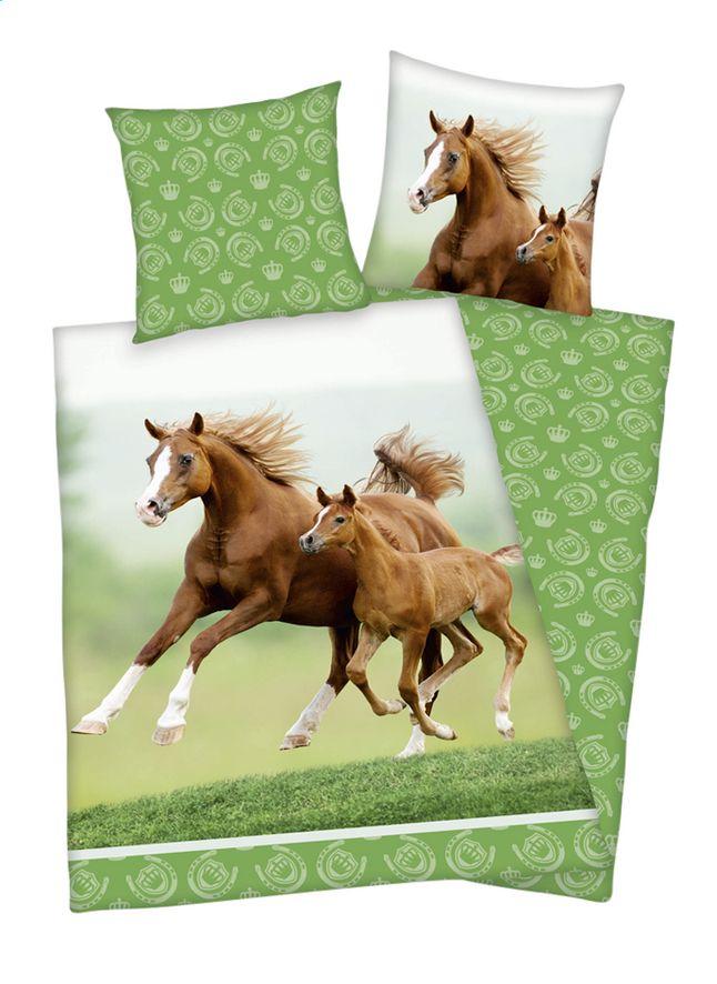 Afbeelding van Herding Young Collection Dekbedovertrek Merrie in galop katoen B 140 x L 200 cm from ColliShop
