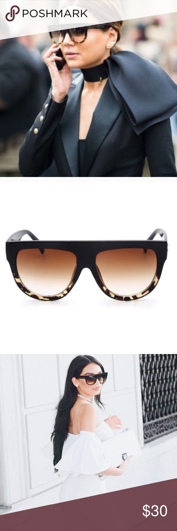 Calabassas Ombré Sunglasses NWT✨ Brand new! Quality luxurious sunglasses. Similar to Quay brand, but only listed for exposure. Quay Australia Accessories Sunglasses
