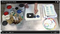Video: Mixing Annie Sloan Chalk Paint for Custom Shade Colors