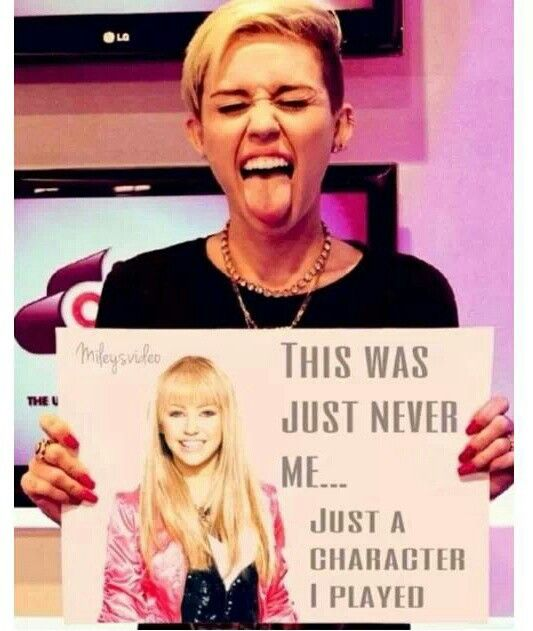 Miley Cyrus - haha! Amen. It's just a haircut people calm down. At least her album is good!
