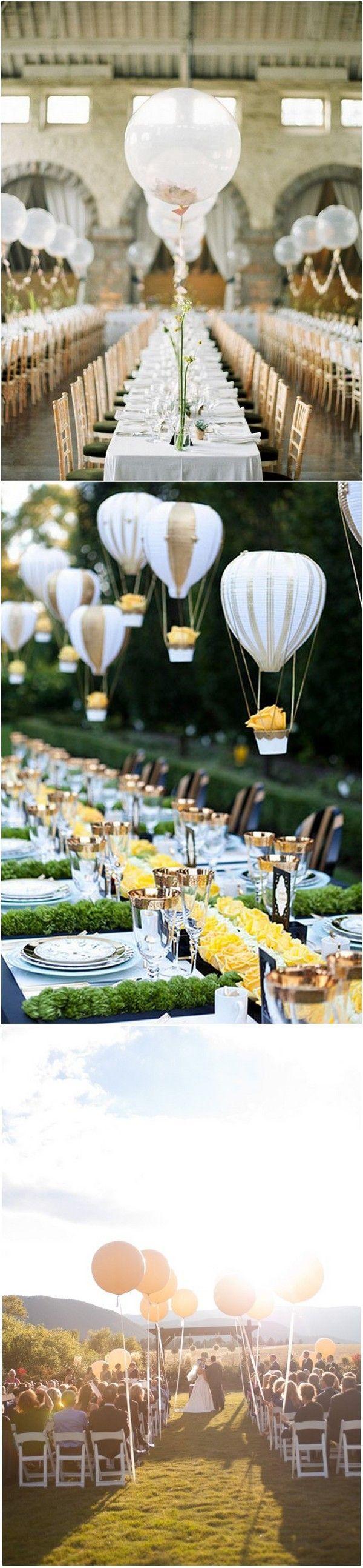 wedding decoration ideas with balloons #weddingdecoration