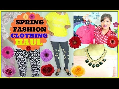 ▶ Spring 2014 Fashion Clothing Trend Forever 21,Cotton On, My CK Store,Romwe Singapore Shopping HAUL - YouTube